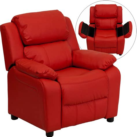 Childrens Chairs With Arms by Recliner With Storage Arms In Lounge Chairs