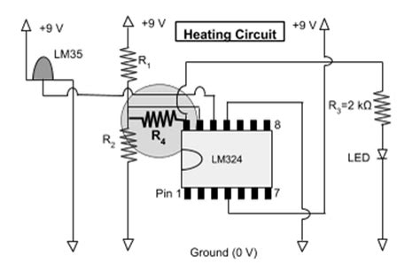 resistor heating circuit designing a thermostat activity www teachengineering org
