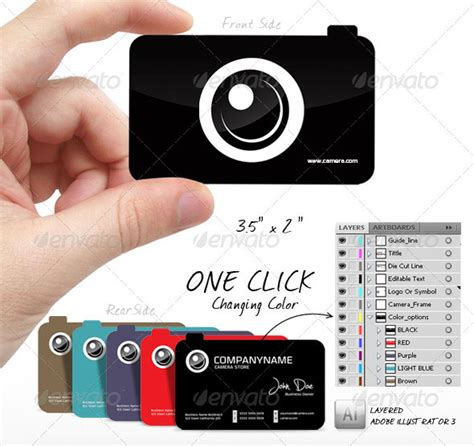 photography business card print templates 25 modern photography business card design templates