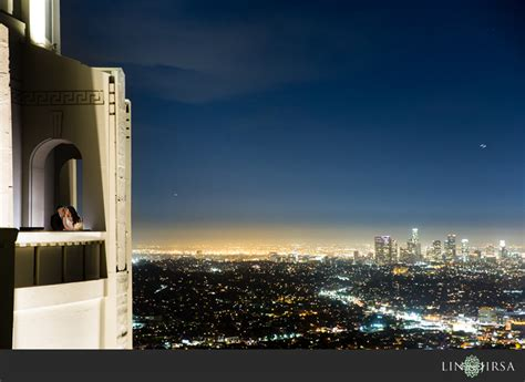 wedding photo shoot locations los angeles griffith observatory los angeles engagement larry vi