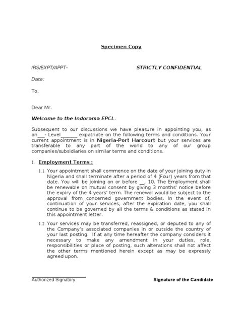 appointment letter format for educational institutions appointment letter afi 28 images sle resume for
