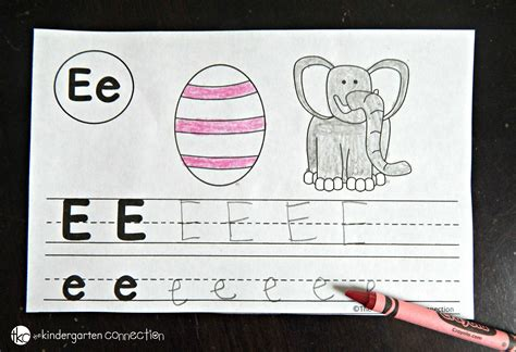 Letter Book free alphabet book the kindergarten connection