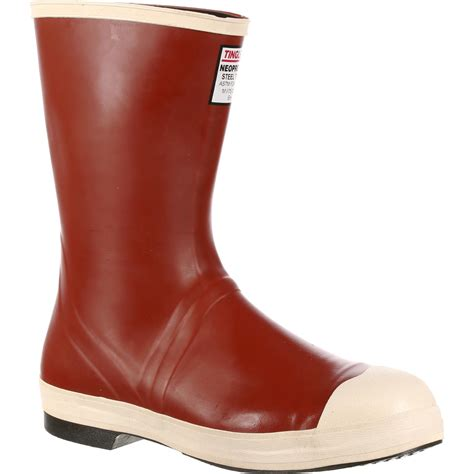 steel toe rubber work boots tingley neoprene steel toe snugleg work boot mb922b