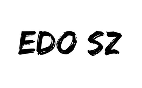 font edo sz 44 free cool and stylish brush fonts blueblots com