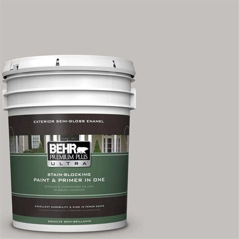 behr premium plus ultra 5 gal ppu18 10 gray semi