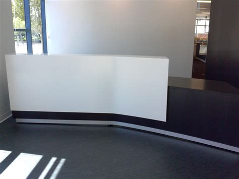 angled reception desk crafted angled reception desk with
