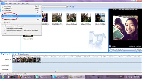 format file film dinayhabibie menyimpan video slide dari windows movie