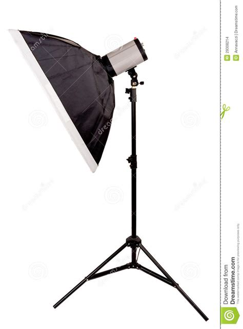 Softbox Studio Studio Lighting With Softbox On The White Background Stock Images Image 29308214