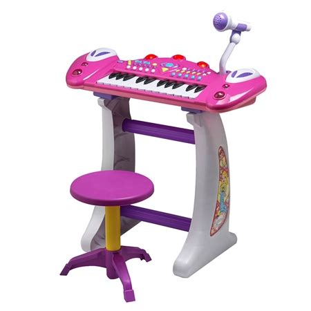 Toddler Keyboard With Microphone And Stool by Children S Keyboard With Mic Stool Sales