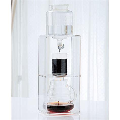Hario Water Dripper Clear 780ml hario coffee water dripper glass cold clear 2 6 cups wdc 6 780ml brew drip ebay