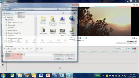 wondershare filmora video editing tutorial wondershare filmora tutorial importing your media youtube