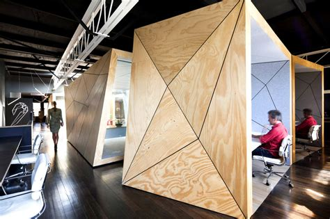 designboom office interior trend alert faceted interior design for fascinating dimension