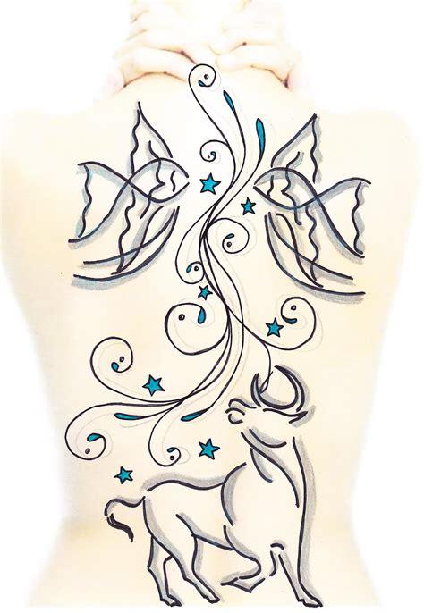 tattoo tribal rücken sternzeichen auf dem r 252 cken tattoo bewertung de