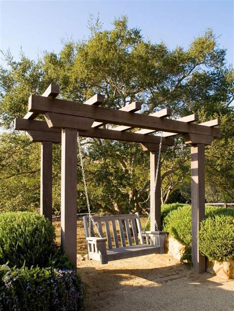 outdoor pergola swings 25 best ideas about arbor swing on outdoor