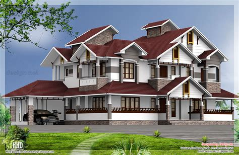 6 bed house plans 6 bedroom luxury house design kerala home design and floor plans
