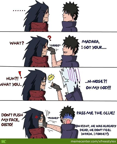 Madara Meme - obito and madara by xfreestylex meme center