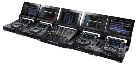 dj console pioneer pioneer dj announces the new cdj tour1 and djm tour1