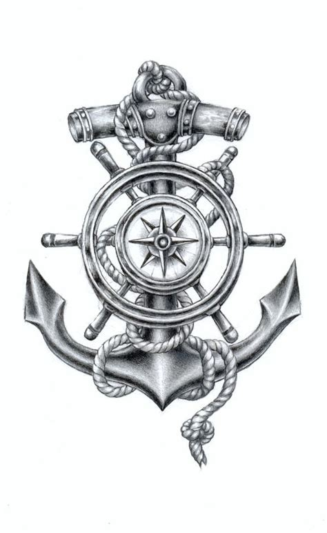 compass anchor tattoo 25 best ideas about anchor compass on