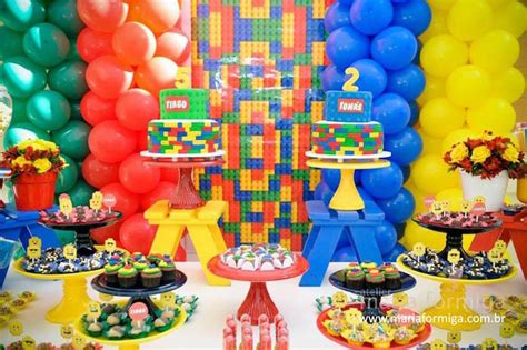 themes for joint birthday parties kara s party ideas lego joint birthday party