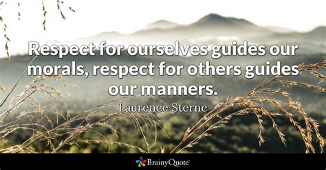 respect   guides  morals respect   guides  manners laurence