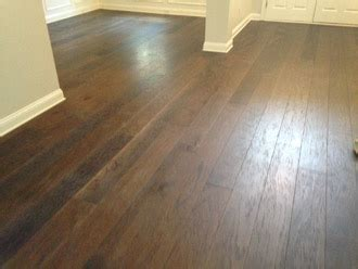 Hickory Hardwood Flooring Installation   Plantation Oaks