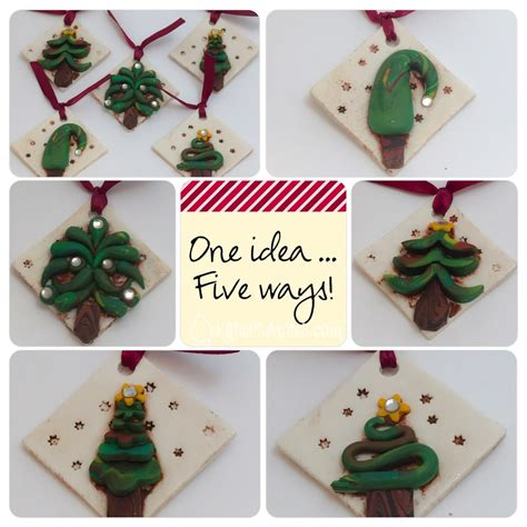 christmas decorations to make how to make polymer clay ornaments
