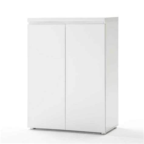 Storage Cabinet White by Sydney 2 Door Storage Cabinet In High Gloss White 19687