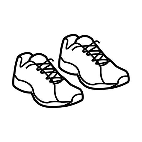 dibujos infantiles zapatillas zapatillas deportivas para colorear