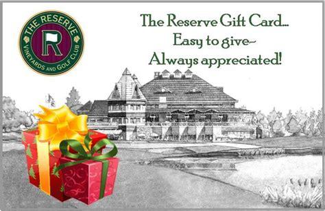 Aloha Marketing Gift Card - the reserve vineyards and golf club aloha or