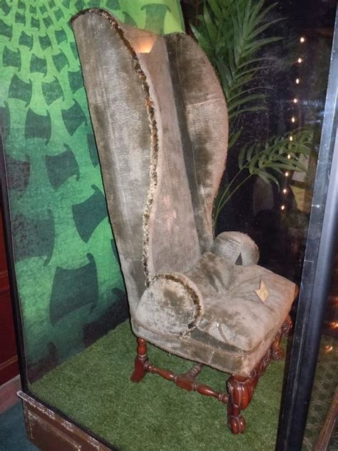 mad hatter chair props from in mad hatters chair