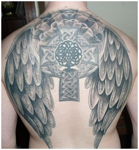 celtic cross with wings tattoo 78 images about ink on photos