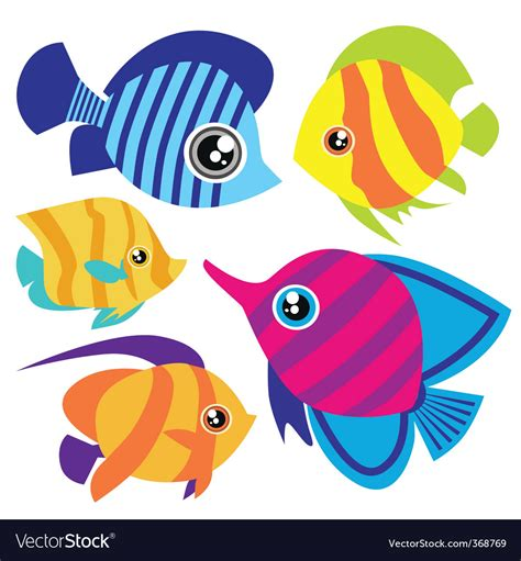free vector clipart images fish royalty free vector image vectorstock