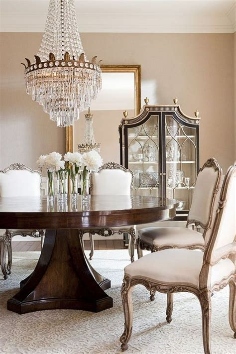 Gorgeous Dining Room Tables 25 Beautiful Neutral Dining Room Designs Digsdigs