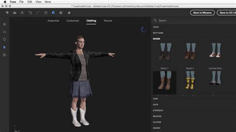 create your own 3d model learn adobe fuse cc the basics