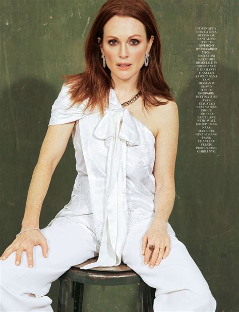 julianne moore julianne moore stuns for the pages of grazia italy
