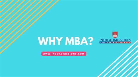 Why To Get A Mba by Mba Archives Indoadmissions