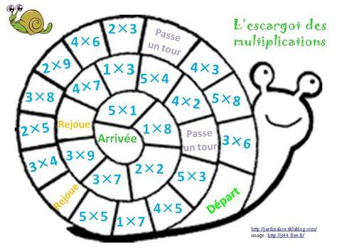 reviser les tables de multiplications paolo