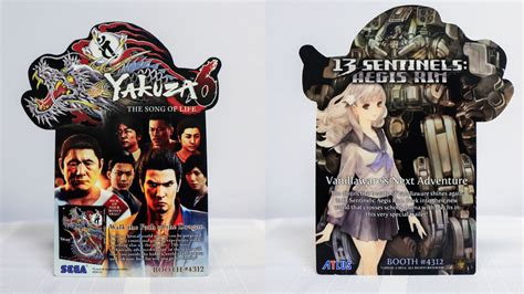 Ps4 Yakuza 6 The Song Of Limited Artbook Edition R3 Asia e3 2017 sega and atlus reveal yakuza 6 13 sentinels badge
