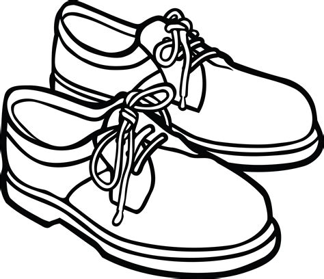 black and white school shoes free clipart of a pair of mens shoes