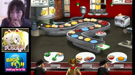 burger shop game 02 burger shop 2 game play big fish games youtube