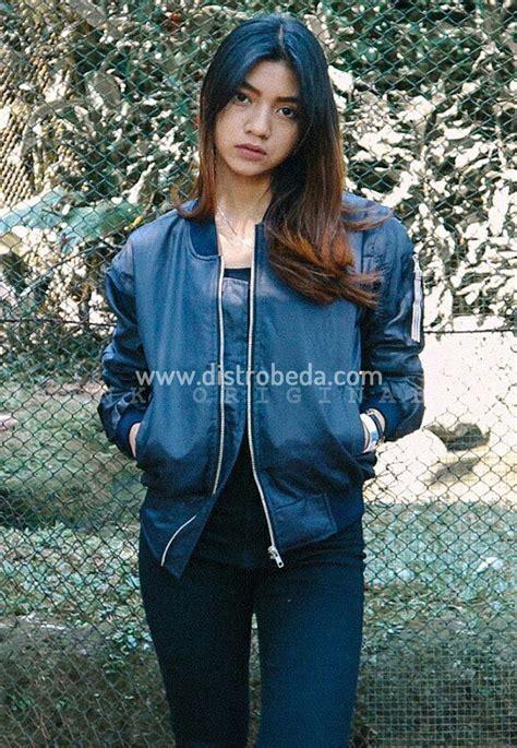 Jaket Bomber Fulcrum For jaket bomber wanita murah biru fulcrum jaket muslimah