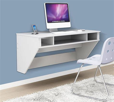 Wall To Wall Desk Diy 17 Best Ideas About Wall Mounted Desk On Wall Mount Wall Mounted Desk Ikea And Wall