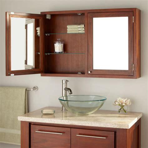 36 quot doba mahogany medicine cabinet bathroom