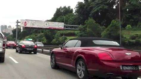 bentley singapore bentley convoy from singapore in kuala lumpur
