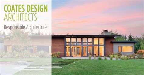 Coates Design Architects by Seattle Architects On Bainbridge Island Coates Design