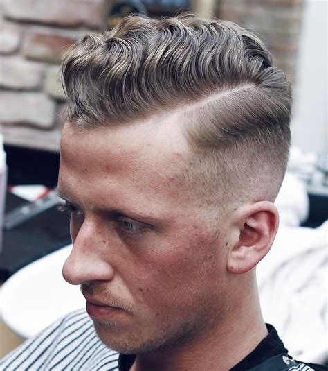 comb over with curly hair comb over fade haircuts for men in 2018 hairstyles 2018