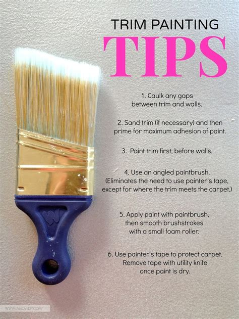 how to paint a house best 25 painting trim tips ideas on pinterest how to paint baseboards diy interior