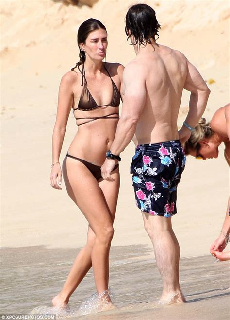 Swimsuit Boy 3in1 Plant wahlberg plants on rhea as they ring in the new year in barbados daily mail