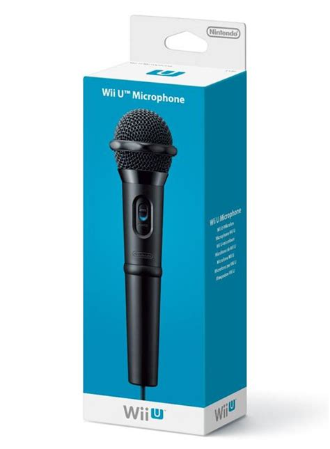 Wii U Voice Bundle With Microphone official nintendo wii u microphone the gamesmen