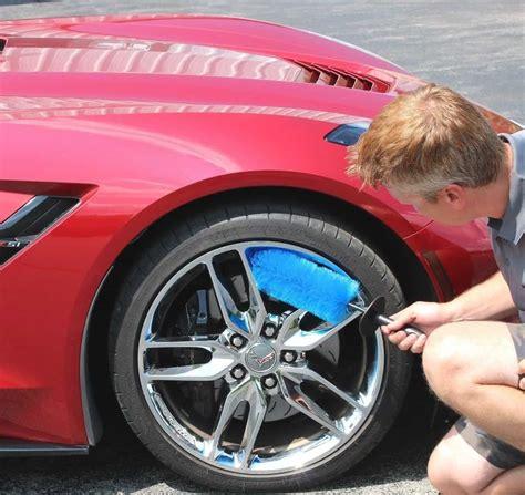 Wheel Brush For Cleaning Chrome Aluminum Rims